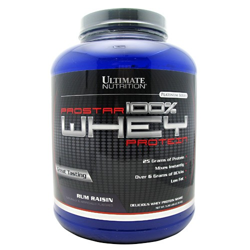 ULTIMATE NUTRITION PROSTAR 100% WHEY PROTEIN 5.28 LB (RUM RAISIN)
